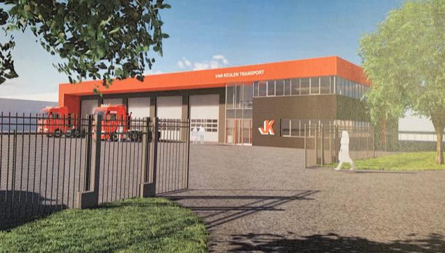 Van Keulen Transport gaat nieuw pand bouwen in Middelburg
