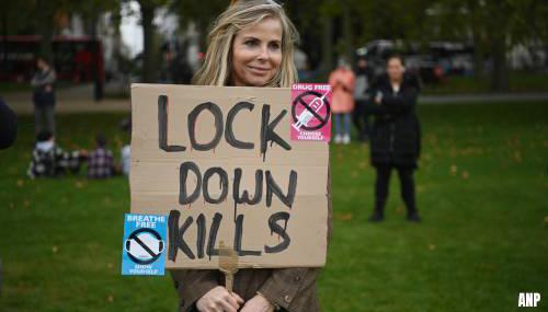 Ruim 150 arrestaties bij anti-lockdownprotesten in Londen