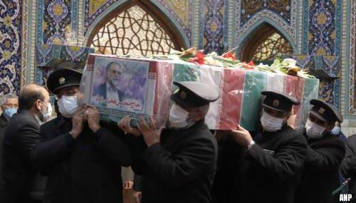 Iran begraaft vermoorde wetenschapper Fakhrizadeh