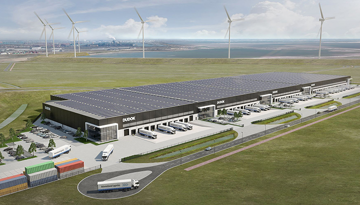 Distripark Maasvlakte West zo goed als compleet