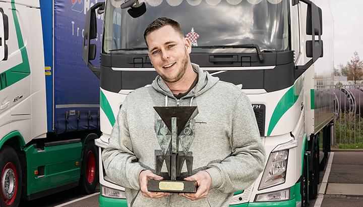 Zuid-Hollandse chauffeur Tommy Heineman wint TVM Award Ridder 2020
