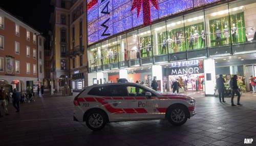 Terreur: vrouw verwondt twee andere vrouwen in Zwitsers warenhuis