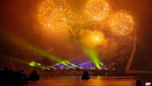 Ook geen vuurwerkshows dit jaar vanwege vuurwerkverbod