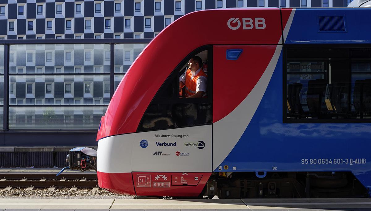 Alstom's waterstoftrein rondt testperiode van drie maanden in Oostenrijk met succes af