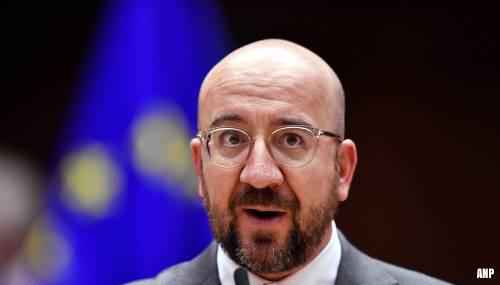 EU-president Michel: het proces is nog niet voorbij