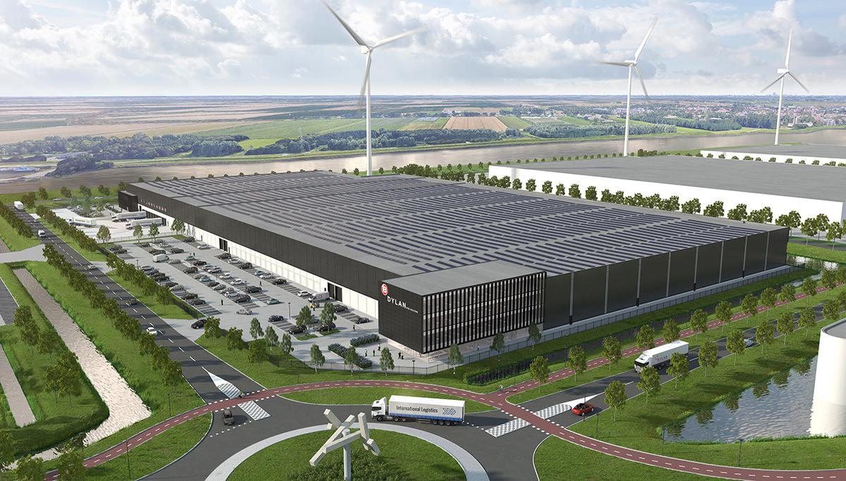 Ook DYLAN Steel Solutions kiest met Dudok Groep voor DistriPark Dordrecht