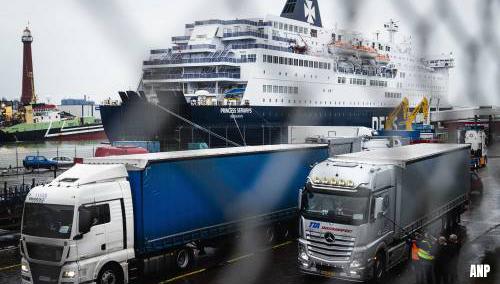 Weer passagiers op ferry's vanuit Verenigd Koninkrijk