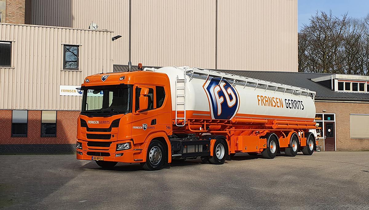 Nieuwe Scania voor Fransen Gerrits