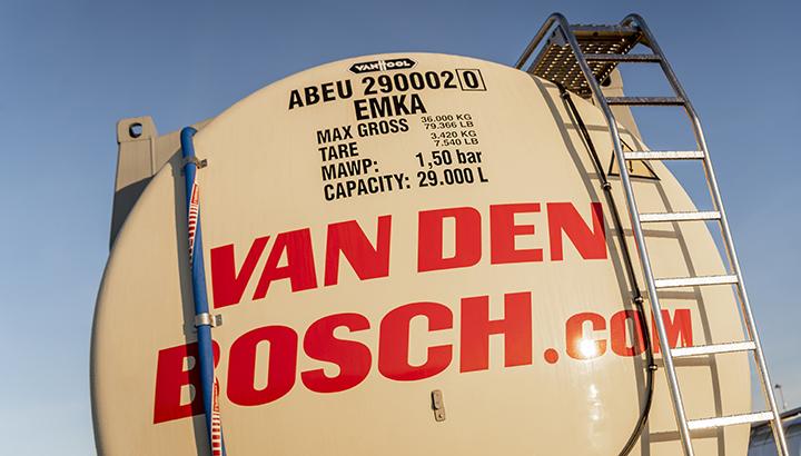 Van den Bosch presenteert High Volume Temperature Controlled-tankcontainer
