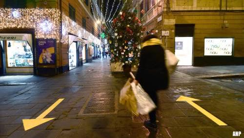 Code rood voor heel Italië tijdens de feestdagen