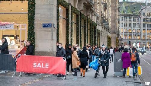 'Lockdown desastreus voor winkels'