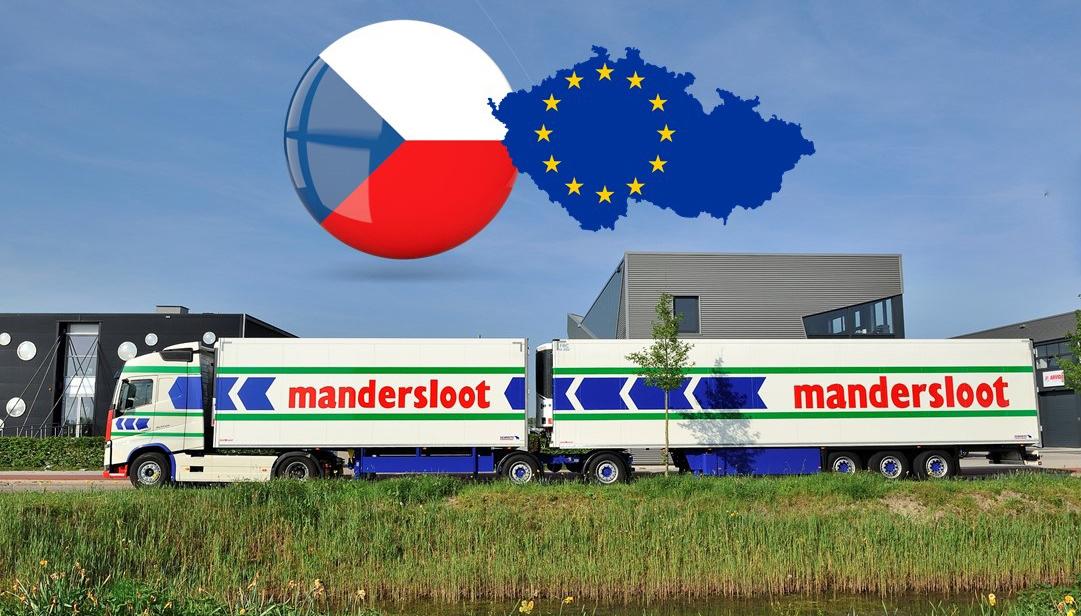Mandersloot als eerste met LZV's naar Tsjechië