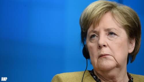 'Merkel en regionale leiders overleggen over sluiting winkels'