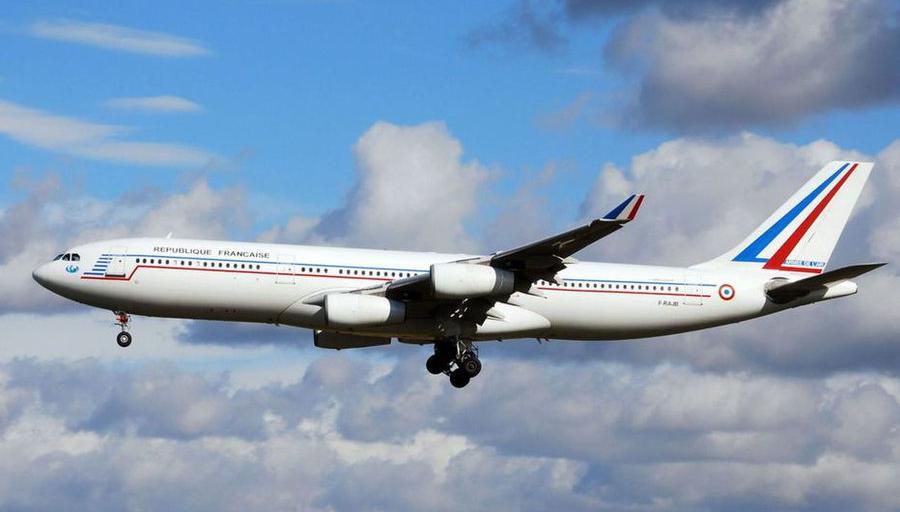 Franse luchtmacht veilt twee Airbussen