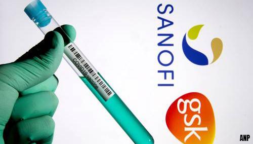 Tegenslag bij ontwikkeling coronavaccin Sanofi en GSK