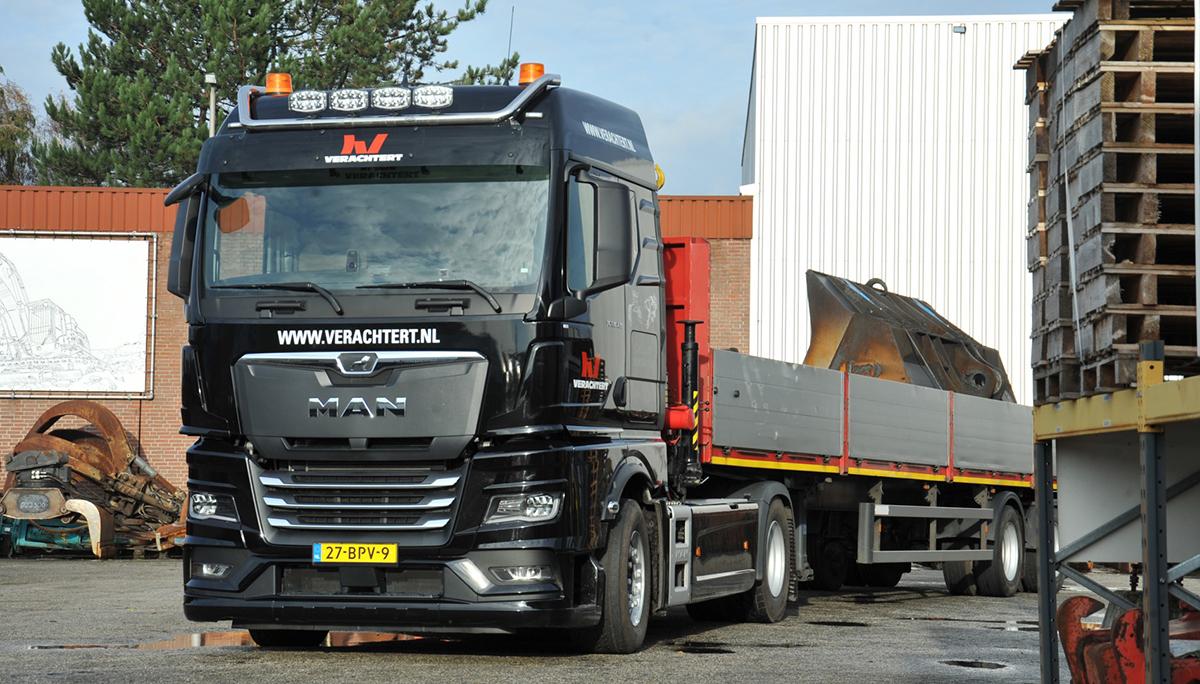 Nieuwe generatie MAN TGX 18.430 voor Stefan Geerts Transport