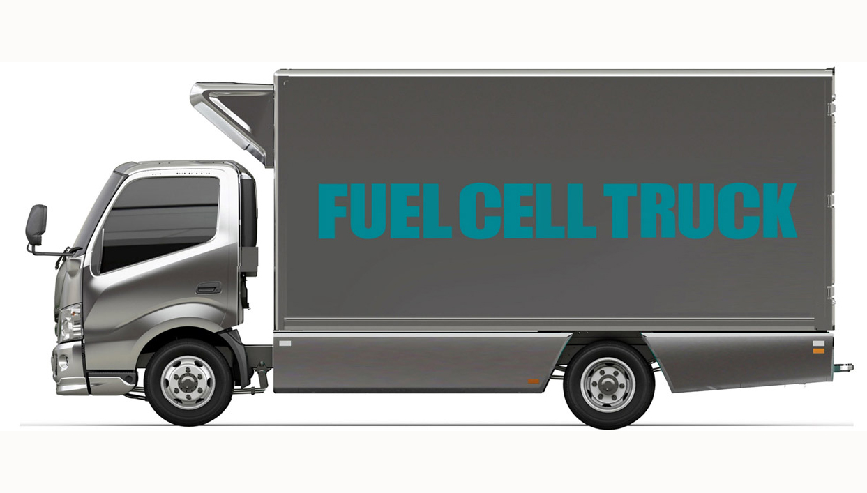 Toyota en Hino starten met winkelketens in Japan initiatief voor inzet van lichte vrachtwagen op waterstof