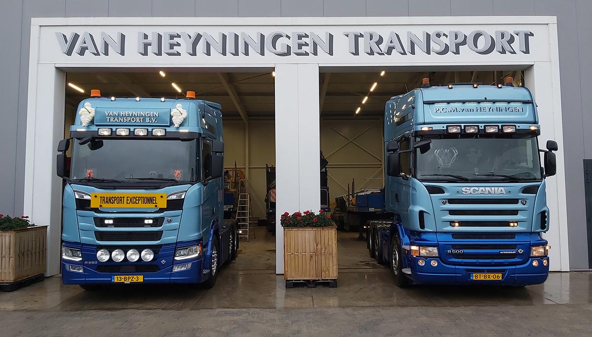 Van Heyningen ruilt na 1.750.000 km Scania V8 in voor een nieuwe