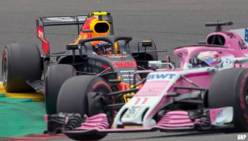 Verstappen ziet samenwerking met Pérez wel zitten