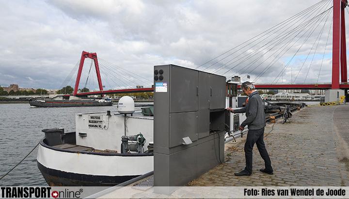 Park-Line Aqua levert walstroomsysteem binnenvaarthavens