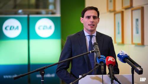 Peiling: keuze voor Hoekstra levert CDA meteen twee zetels winst op