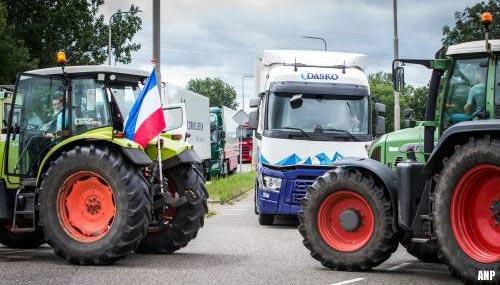 Albert Heijn niet meer in gesprek met protesterende boeren