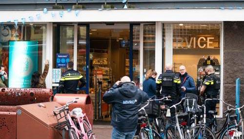 Steekpartij in winkel centrum Den Haag, twee gewonden