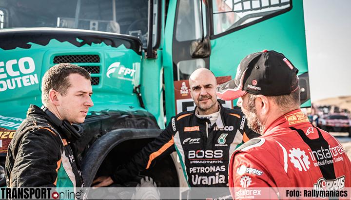 Janus van Kasteren stijgt een plaats in het Dakar-klassement
