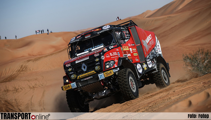 Mammoet Rallysport bijt van zich af in slotetappe van Dakar Rally