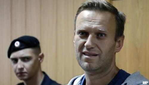 Aleksej Navalni al voor rechter geleid volgens medewerker