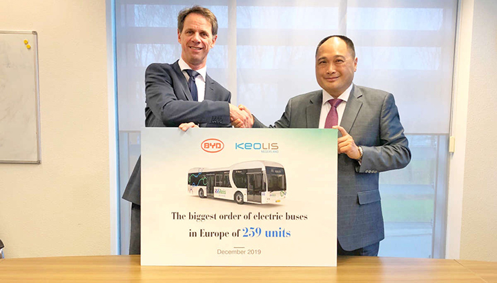 Vakbonden: implementatie elektrische bussen IJssel-Vecht Keolis een drama