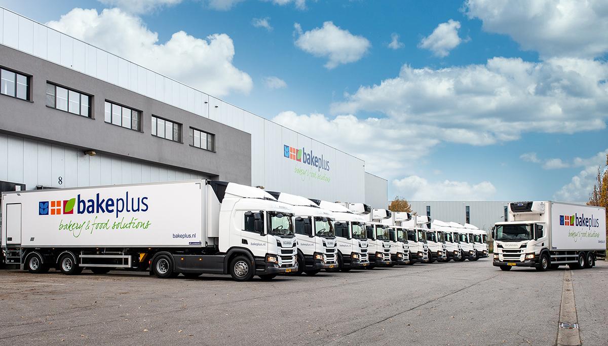 Zes nieuwe Scania's voor Bakeplus
