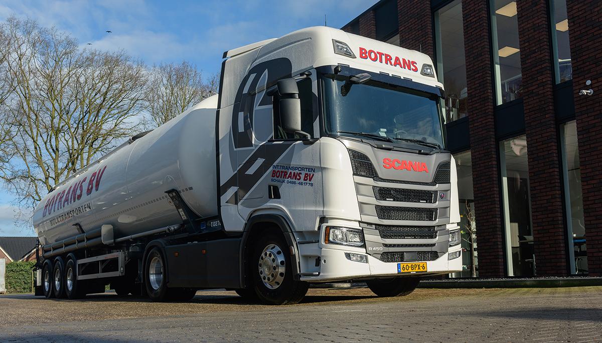 Nieuwe Scania R450 4x2 voor Botrans