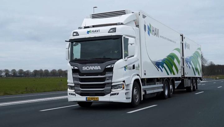 HAVI's elektrificatietraject gaat verder met de introductie van een Plug-in hybride vrachtwagen in Nederland