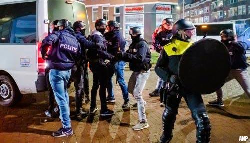 184 mensen aangehouden bij rellen, 1741 boetes uitgedeeld