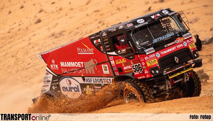 Drie keer zeven voor Mammoet Rallysport