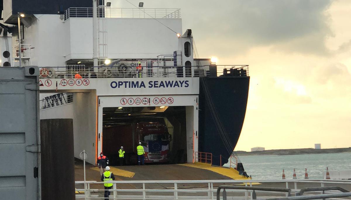 Nieuwe veerverbinding Duinkerken - Rosslare geopend