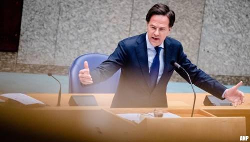 Kritiek op Rutte na grap over wegsturen kabinet