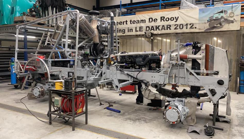 Team De Rooy wil in 2022 terugkeren in Dakar Rally