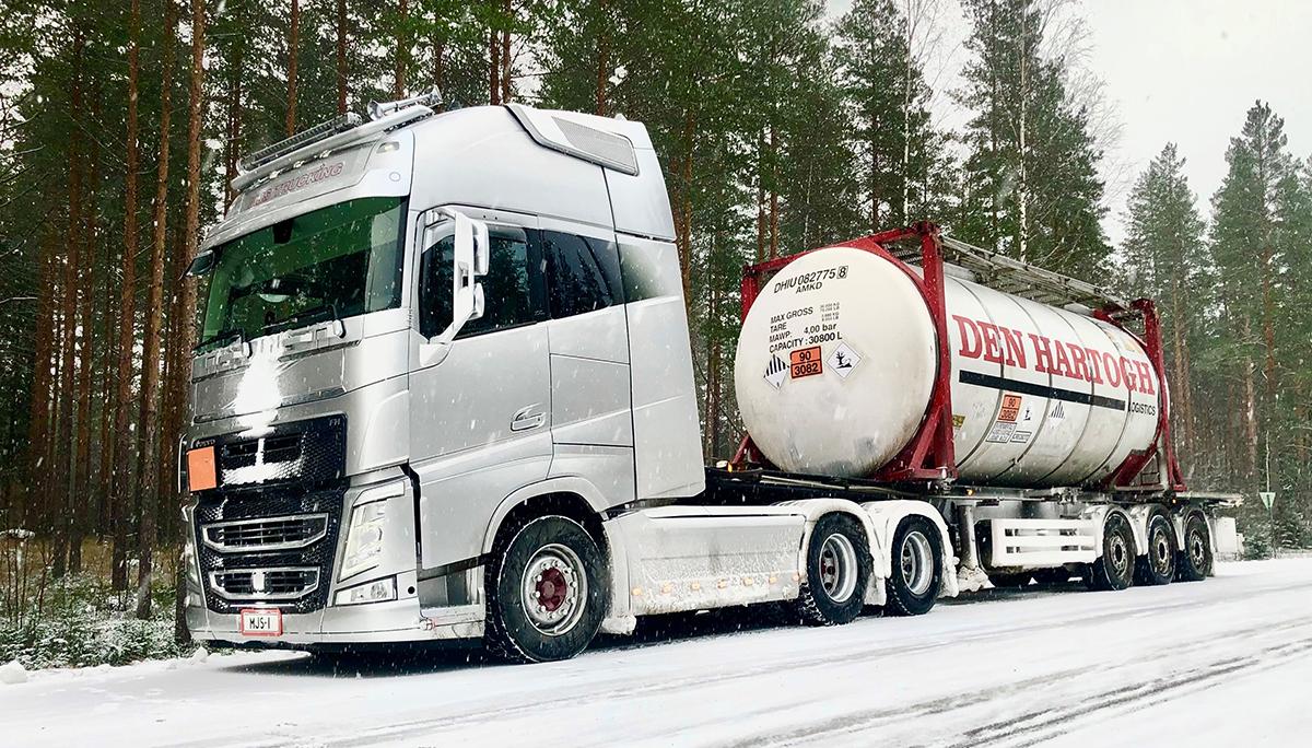 Den Hartogh Logistics neemt Finse Tschudi Tank Transport Oy over