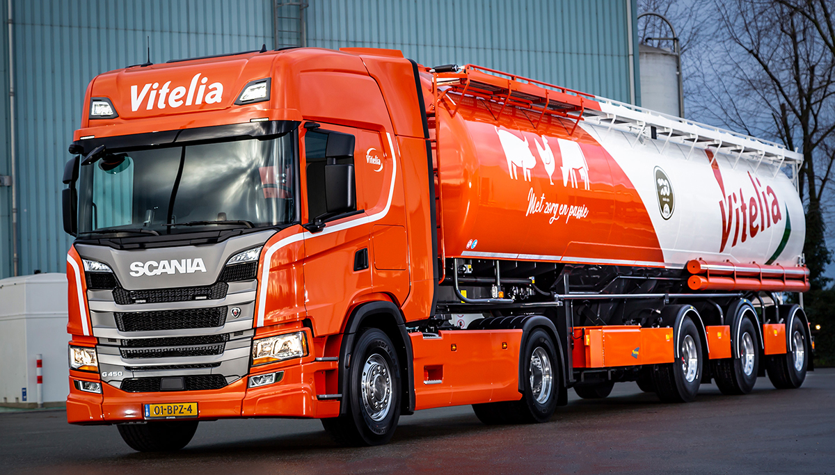 Nieuwe Scania's voor Vitelia