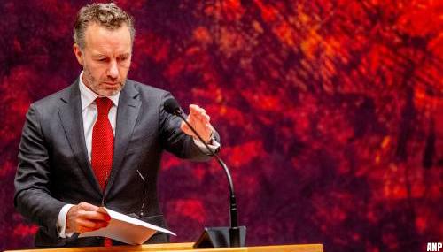 FVD'er Van Haga 'totaal verbijsterd' over besluit van Theo Hiddema