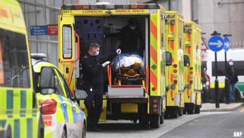Nog eens 1200 sterfgevallen door Covid-19 in VK