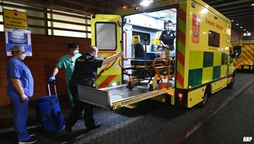 'Britse coronapatiënten naar hotel door tekort ziekenhuisbedden'