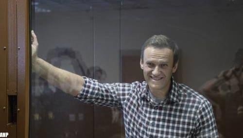 Oppositievoorman Navalni aangekomen in strafkolonie