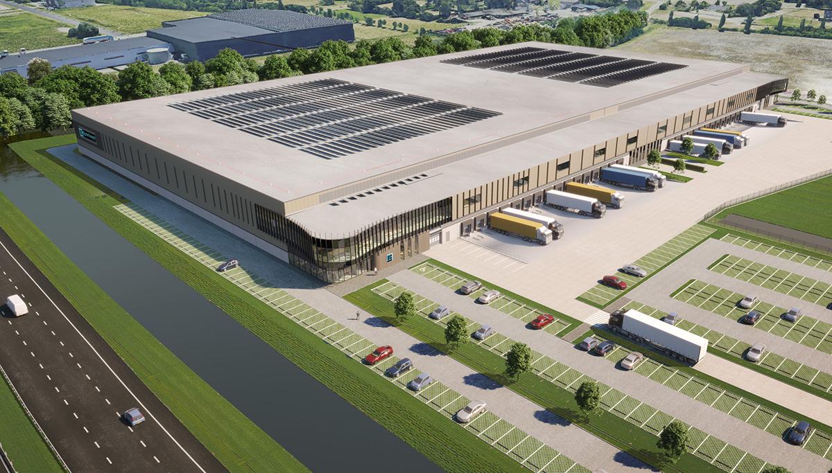 Heembouw start de ontwikkeling van DC Bijsterhuizen voor Union Investment