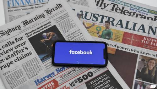 'Mediawet Australië wordt waarschijnlijk aangenomen'