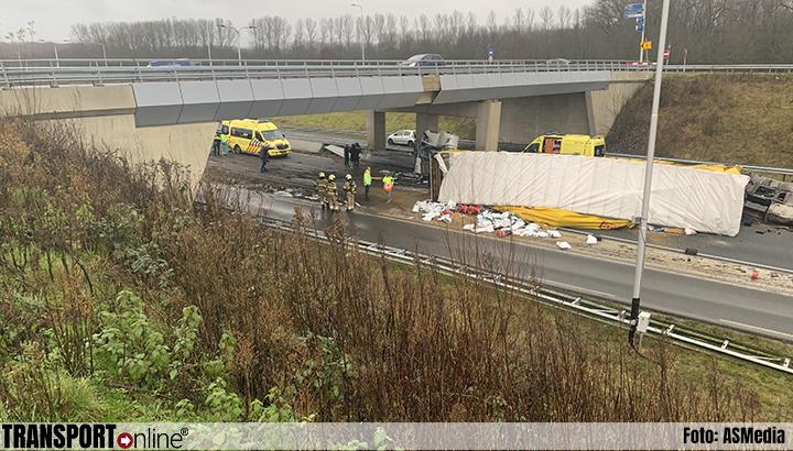 Ernstig ongeval met vrachtwagen op N279 [+foto's]