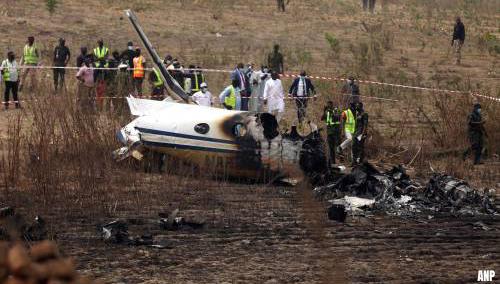 Zeven doden bij crash legervliegtuig in Nigeria