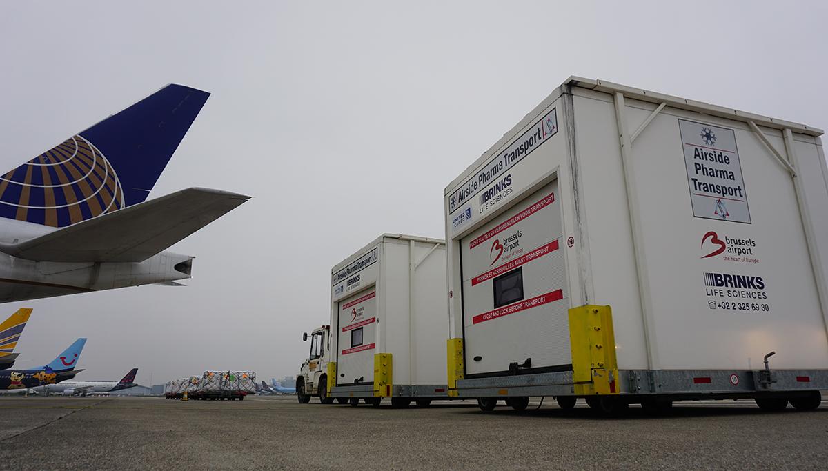 Vluchten met COVID-19 vaccins van Brussels Airport naar meer dan 40 bestemmingen wereldwijd